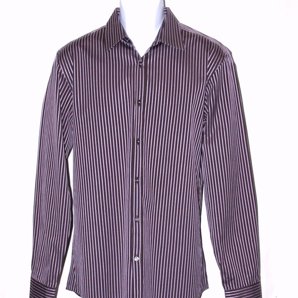 e99b16426 Hugo Boss Shirts | Mens Dress Shirt 16 3435 Slim Fit | Poshmark